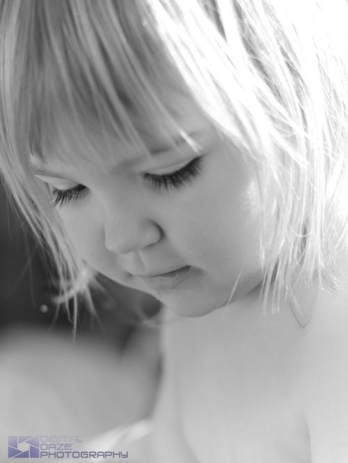 Portfolio - children - BW portrait-