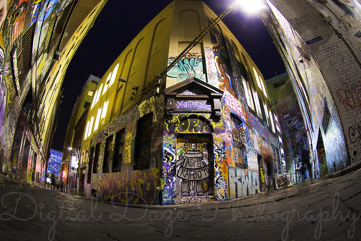 Hosier Lane, Melbourne City Center